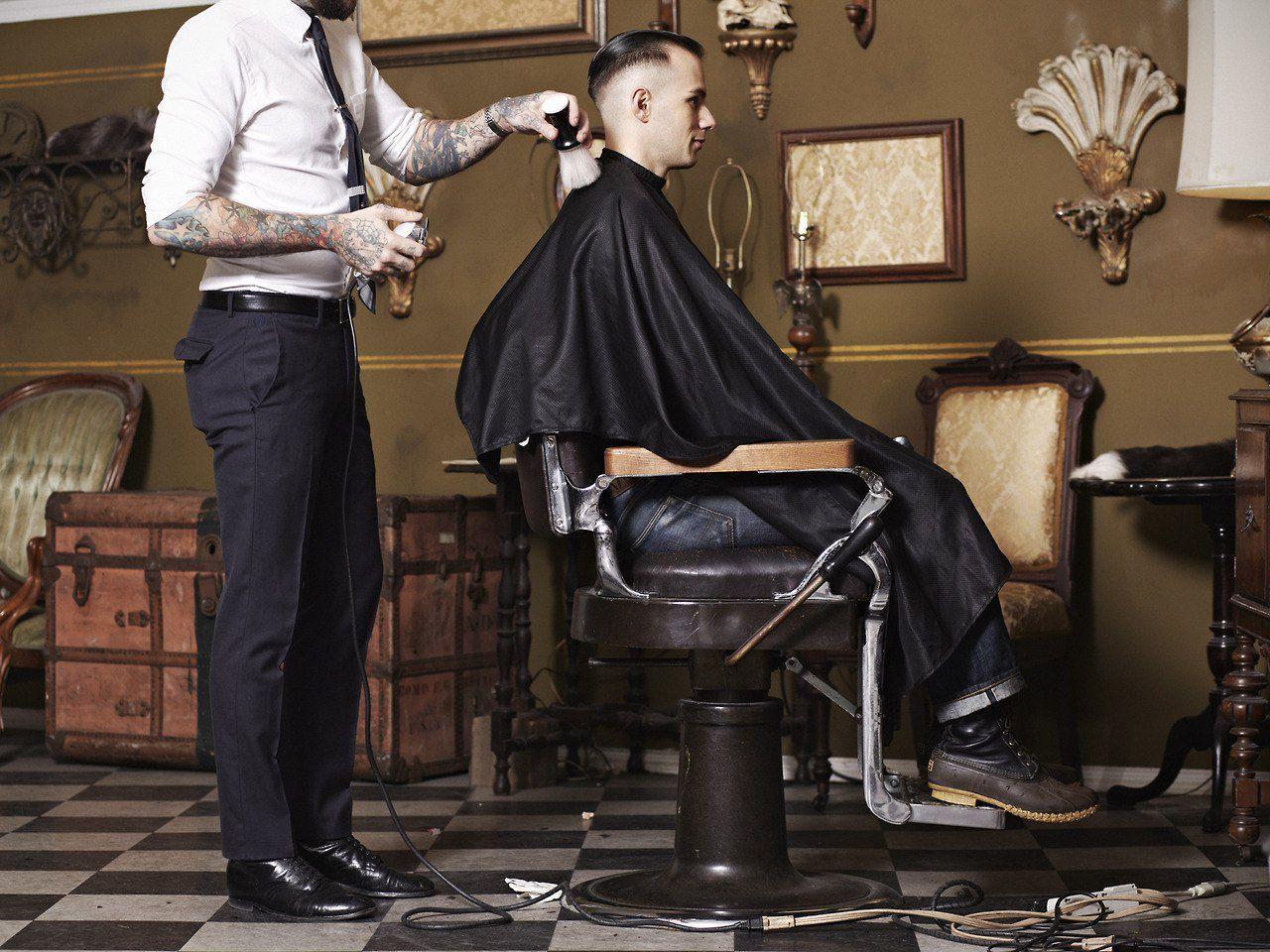 воспалительное фото в чем одет парикмахер заказать бресте, большой