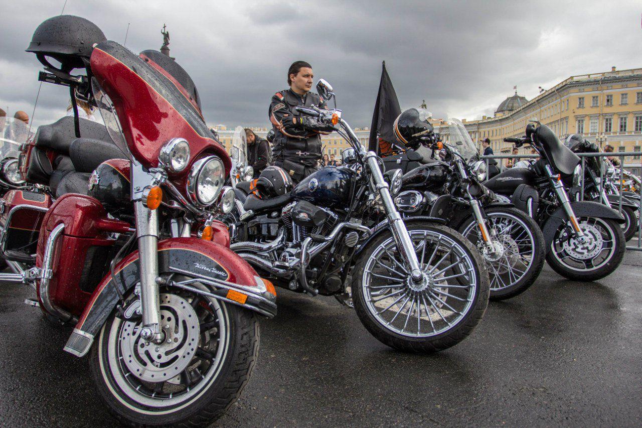 фестиваль Harley Davidson в санкт петербурге 2016