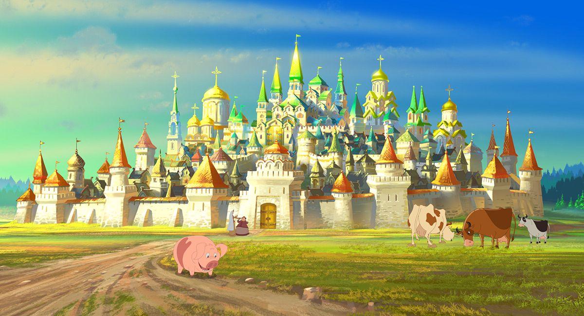 Тридевятое царство сказочные картинки