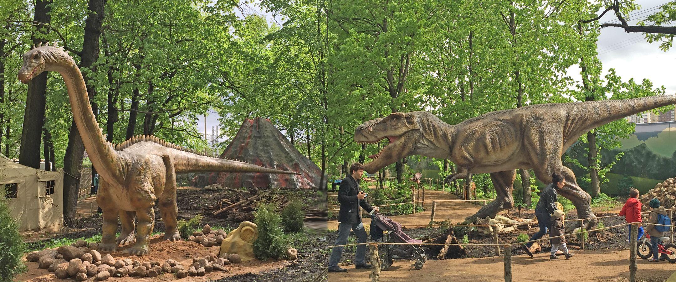 по какому адресу находится парк динозавров в волгограде и цена