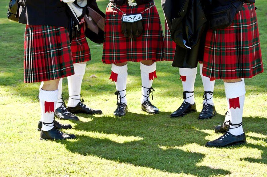 Фотографий шотландского костюма