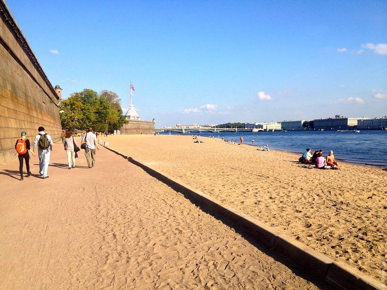 фадеева фото с пляжей санкт петербурга перед
