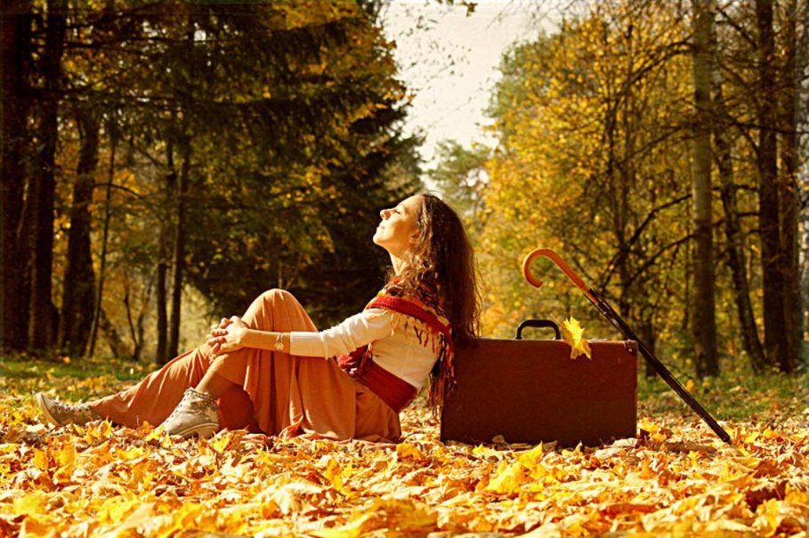 В душе осень картинки