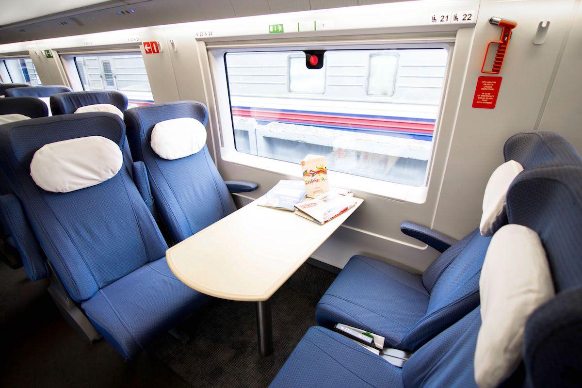 Стоимость билетов на поезд Сапсан Москва  СанктПетербург