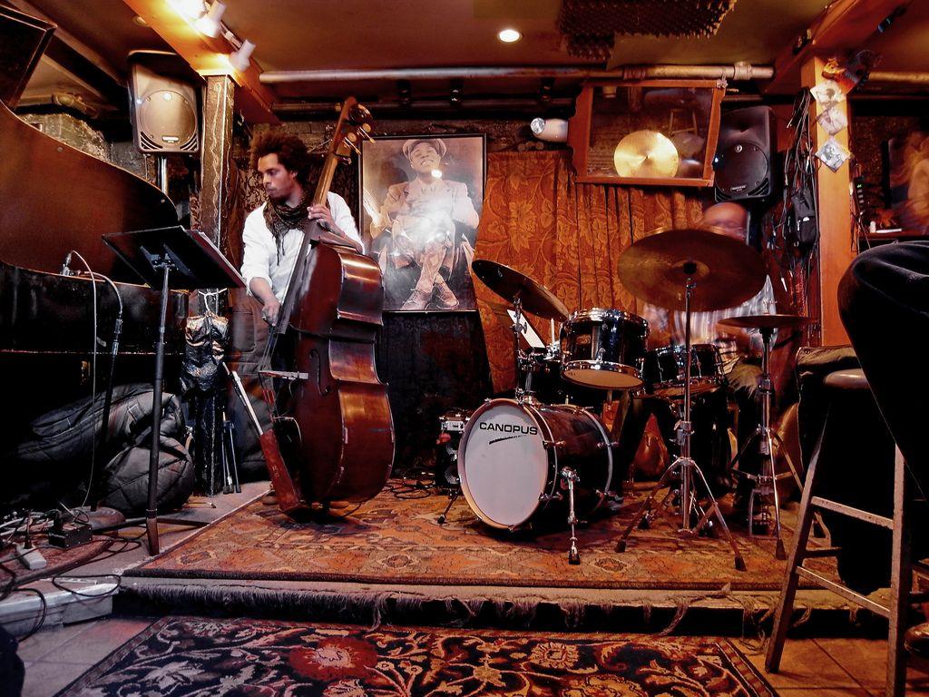 Smalls Jazz Club In New York