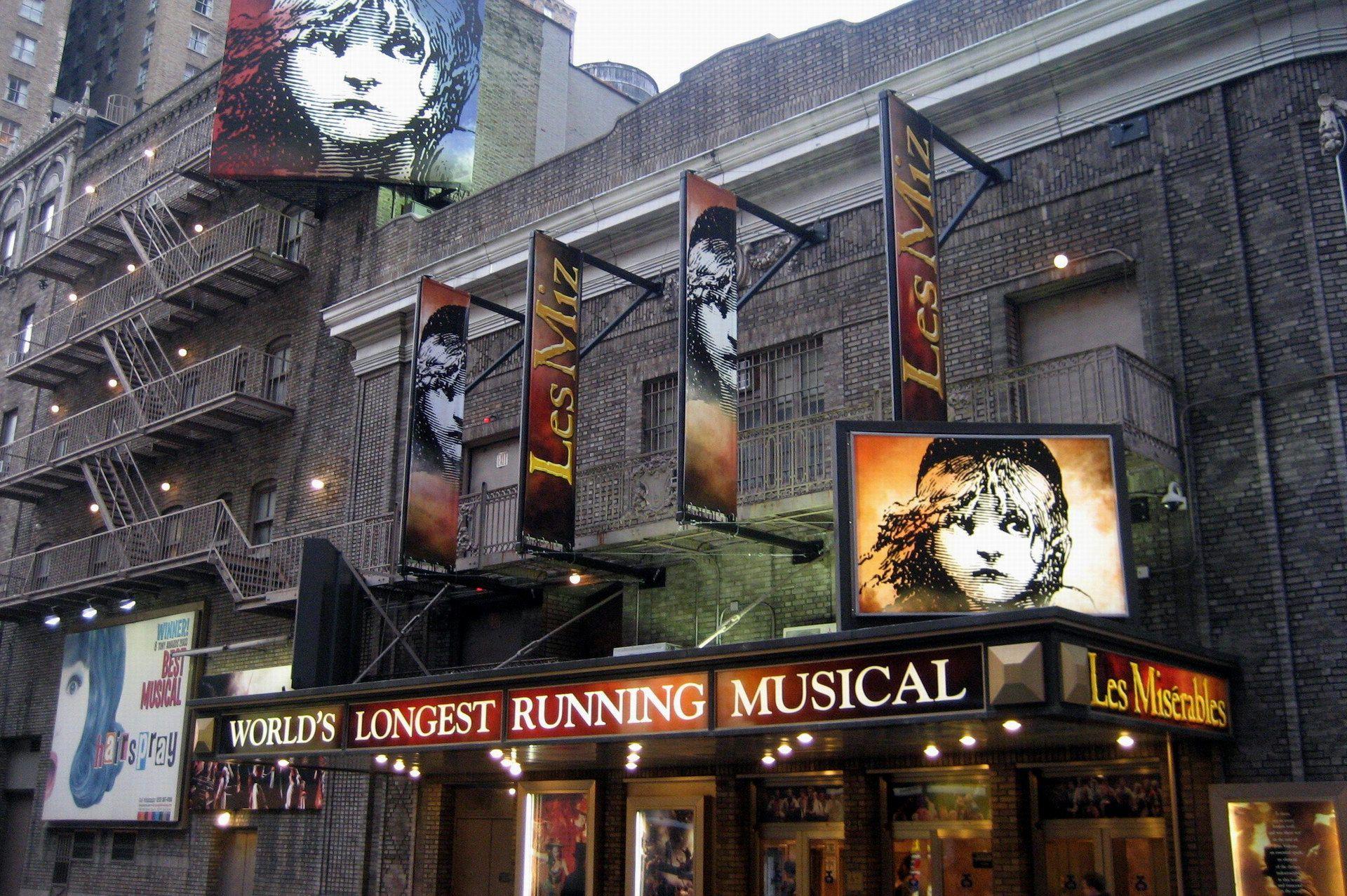 Broadhurst Theater In New York