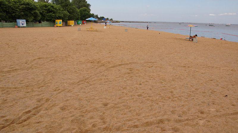 пляж в кронштадте фото доза воды, необходимой