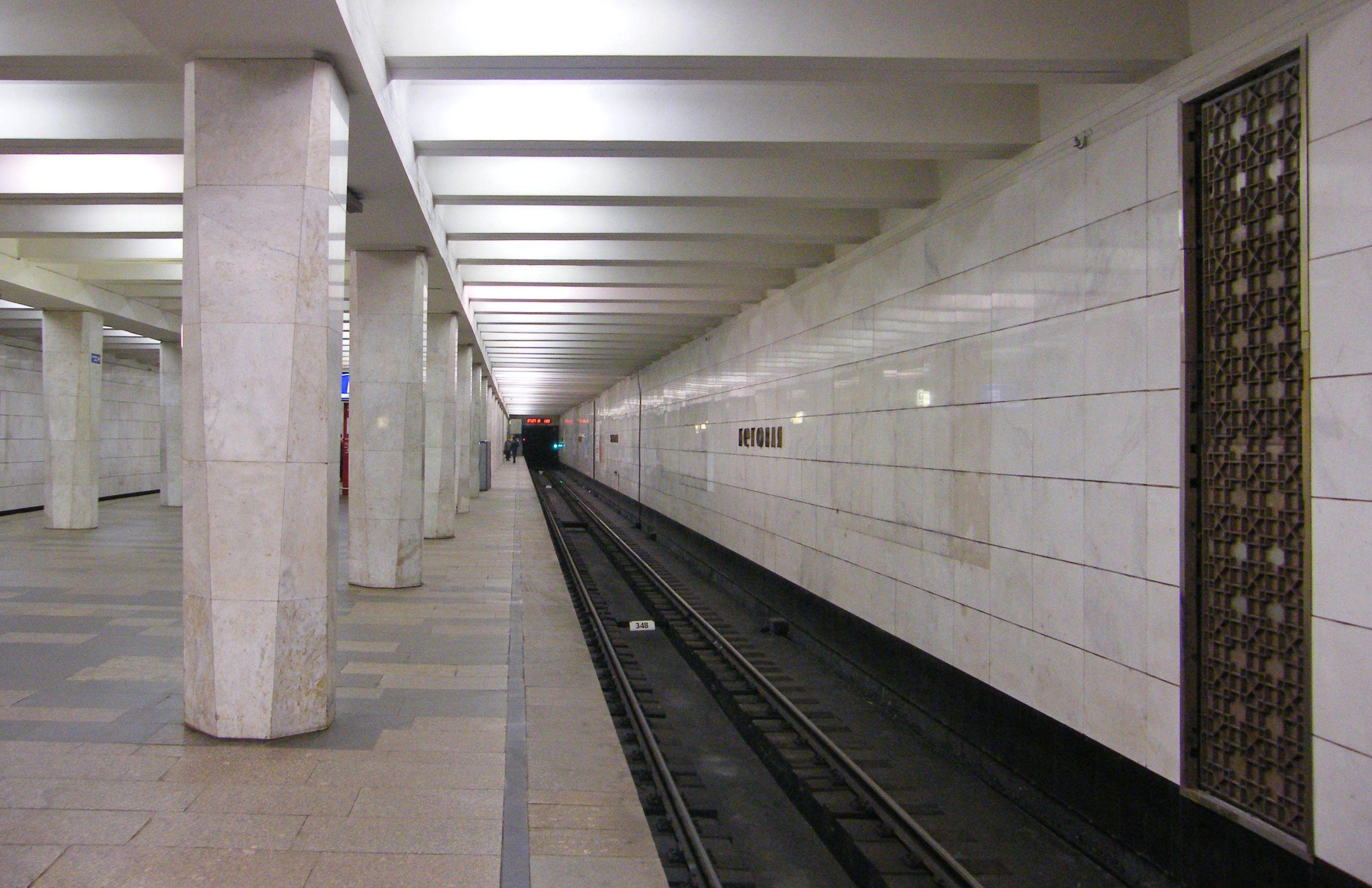 беговая метро фото