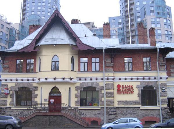 магазин и чайная купца М. Е. Башкирова