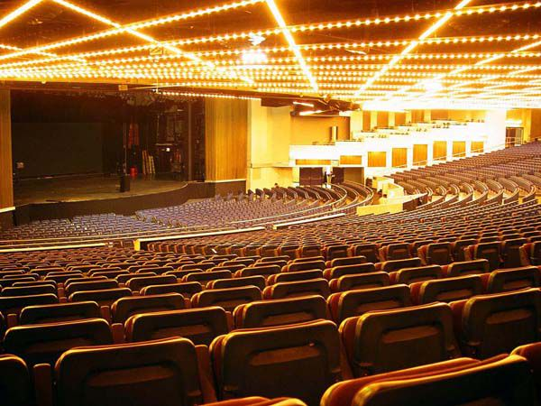 Theater At Madison Square Garden In New York