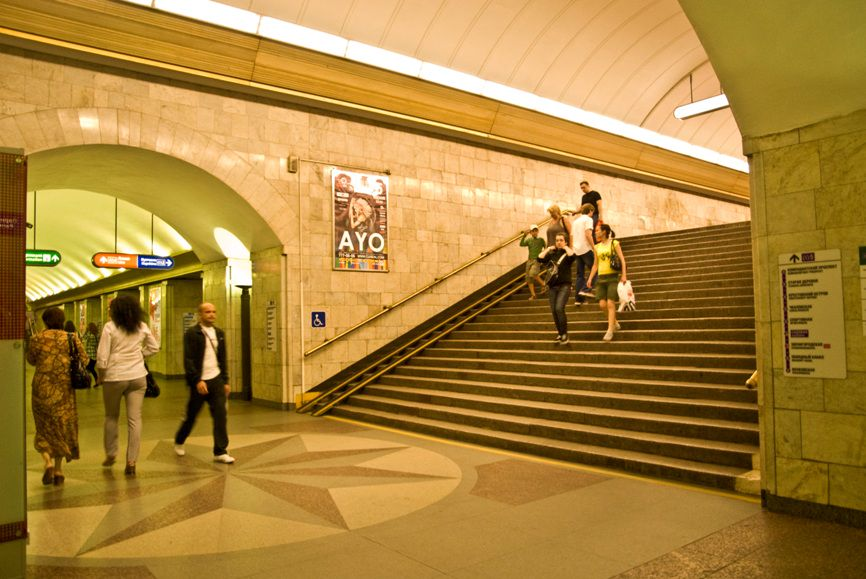 Станция метро «Сенная площадь»