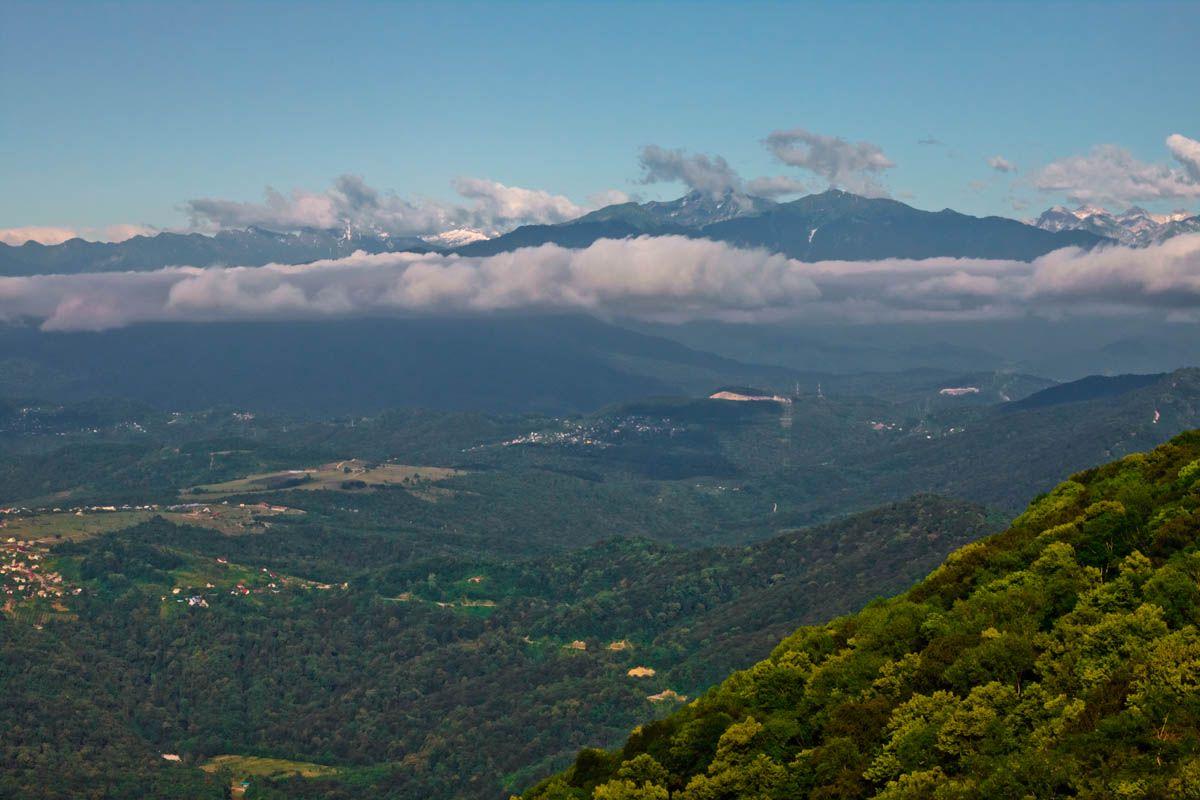 гора в сочи ахун фото