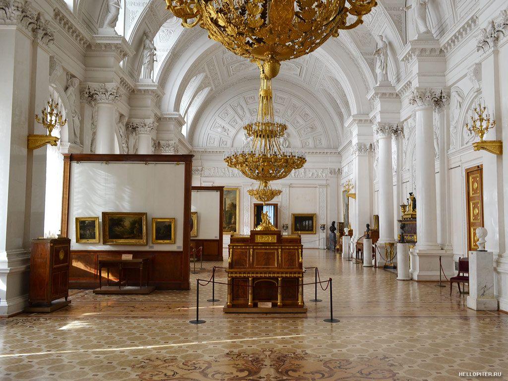 Белый зал Эрмитажа