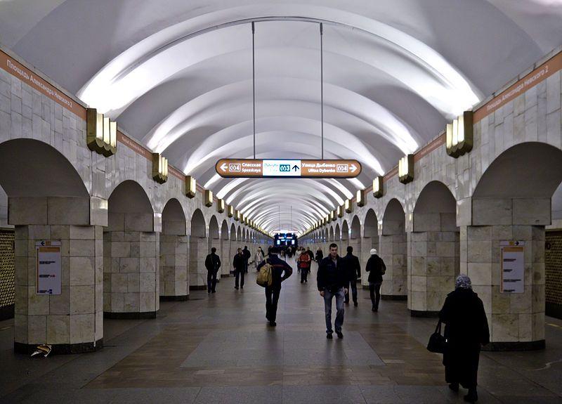"""Станция метро """"Площадь Александра Невского - 2"""" Санкт-Петербург"""