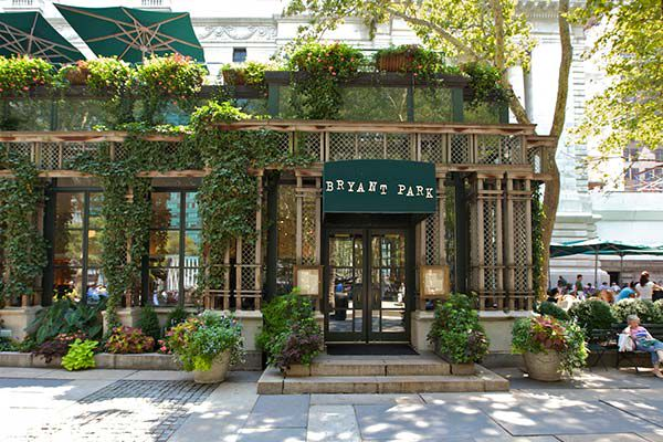 Bryant park grill in new york for Terrace on the park menu
