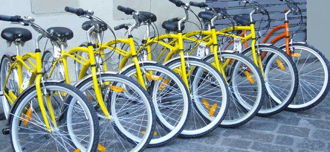 Удобство услуги — велосипед на прокат