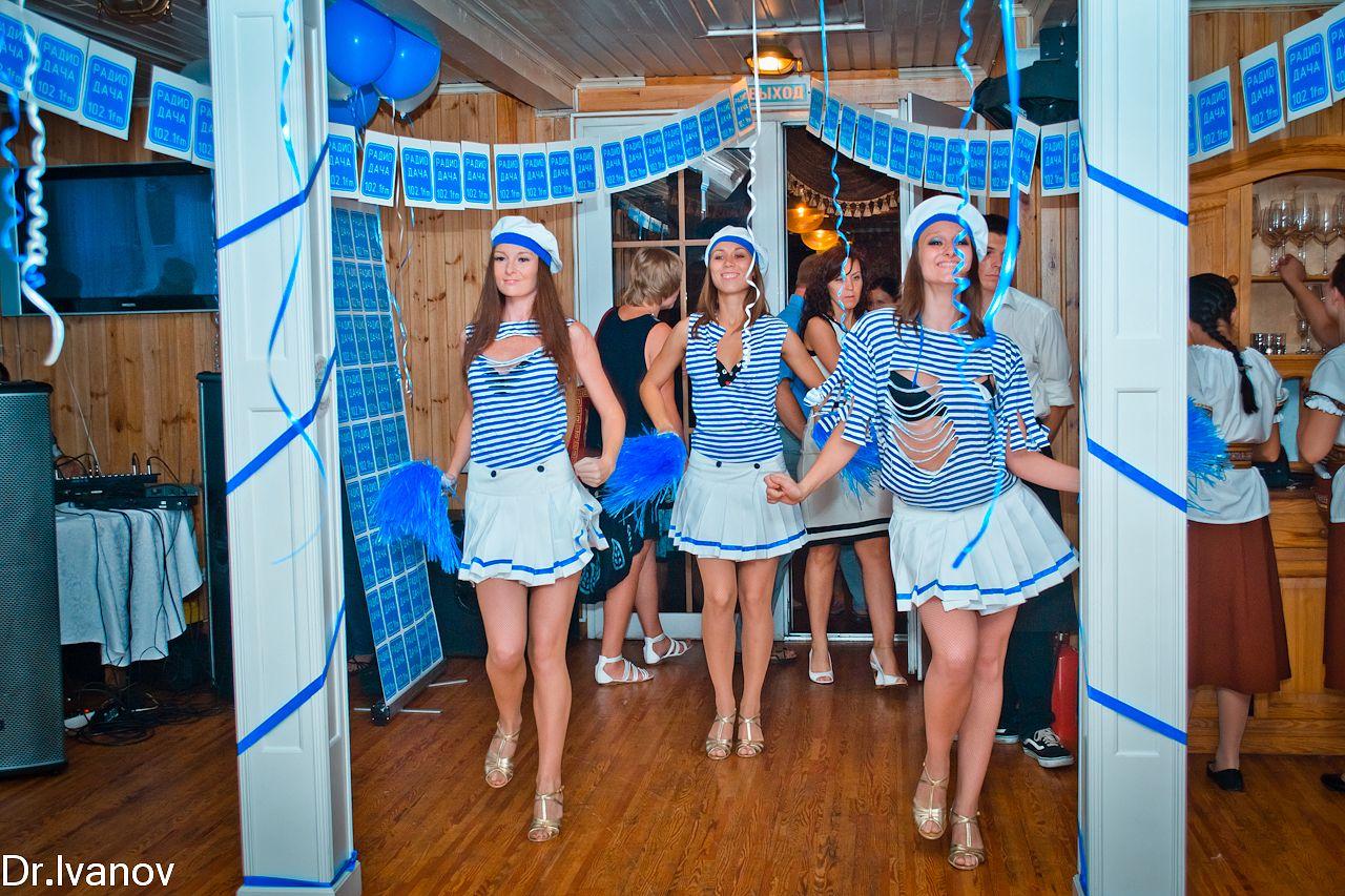 Вечеринка в морском стиле оформление своими руками фото