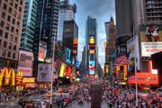 #5. Times Square at twilight