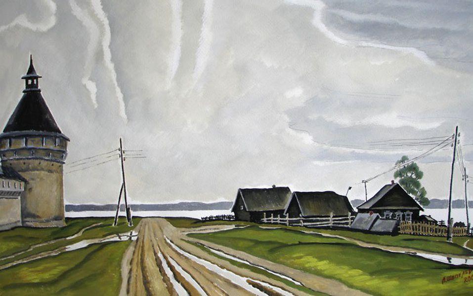 Выставка произведений Льва Шепелева