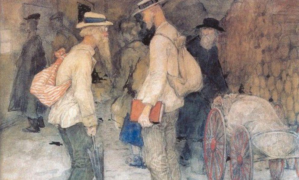 Выставка «Типы и сцены Петрограда 1917–1920 годов»