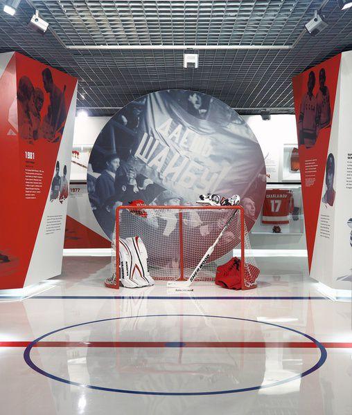 Выставка «Красная машина. Страницы истории» в Музее хоккея