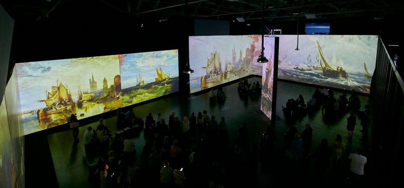 Мультимедийная выставка-спектакль «Я — Айвазовский» в ARTPLAY