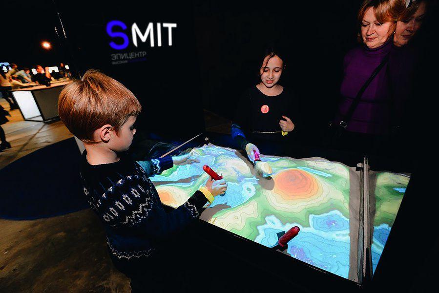 Выставка высоких технологий для всей семьи Smit.Space