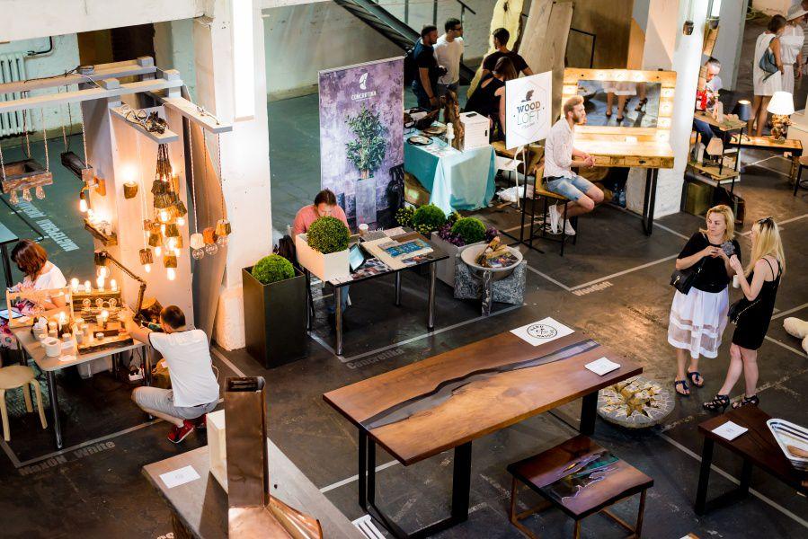 Выставка-ярмарка мебели ручной работы Furniture Market