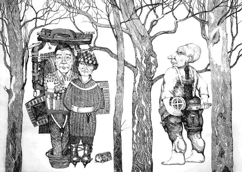 Выставка произведений Александра Кувшинова