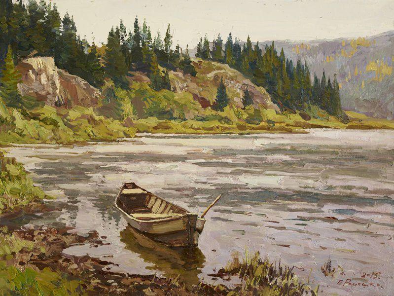Выставка произведений Евгения Ромашко