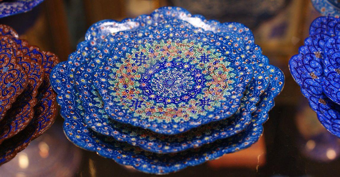 Выставка ремёсел и художественных промыслов Ирана