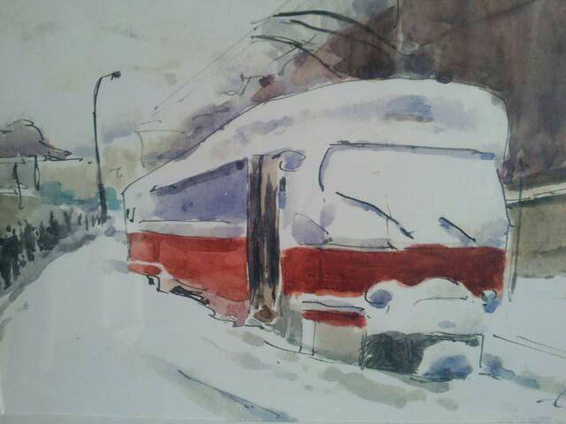 Выставка акварели Алексея Когановского
