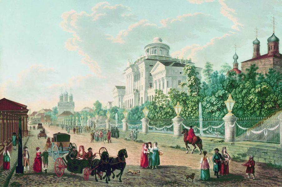 Выставка «К 870-летию Москвы. Москва глазами иностранцев»