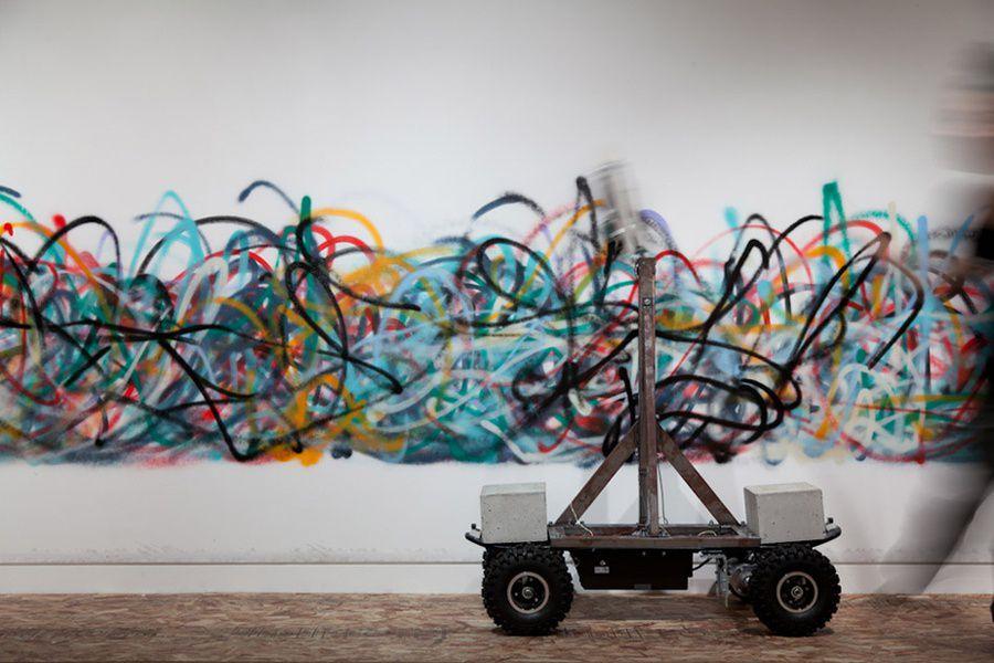 Выставка «Искусство и город: граффити в эпоху интернета»