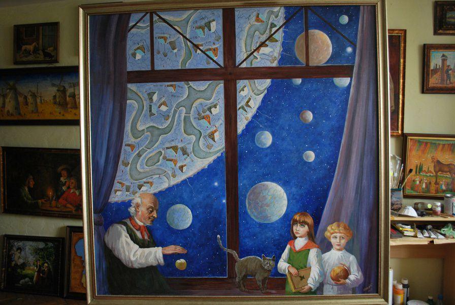 Выставка живописи Олега Щербатых