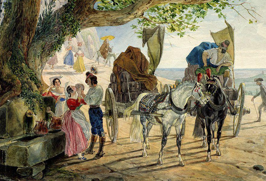 Выставка «Конец прекрасной эпохи. Рисунок первой половины XIX века»