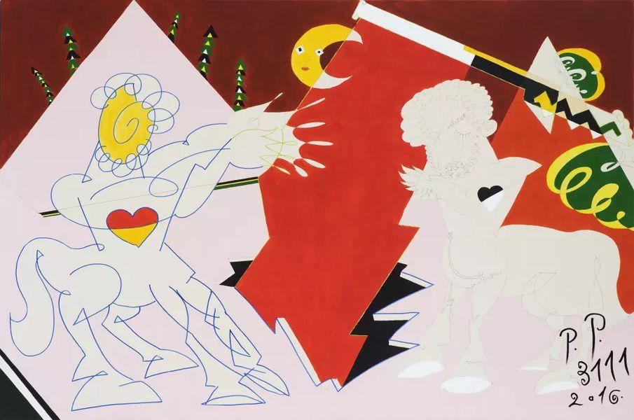 Выставка «Воскрешение Пабло Пикассо в 3111 году»