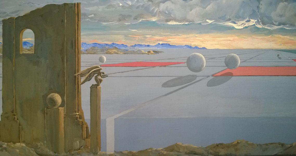 Выставка произведений Виктора Орловского