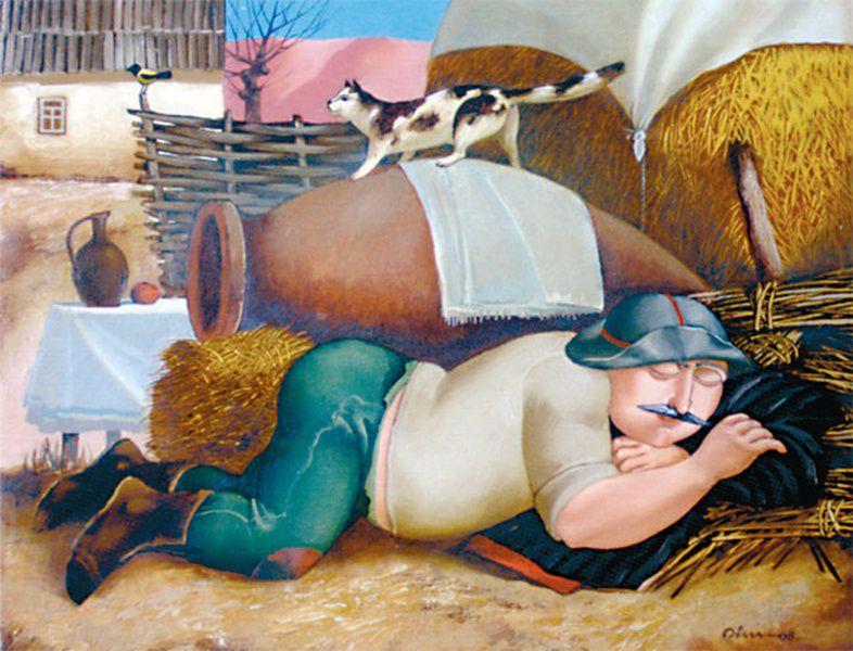 Выставка живописи Теи Келехсаевой и Дмитрия Тедеева