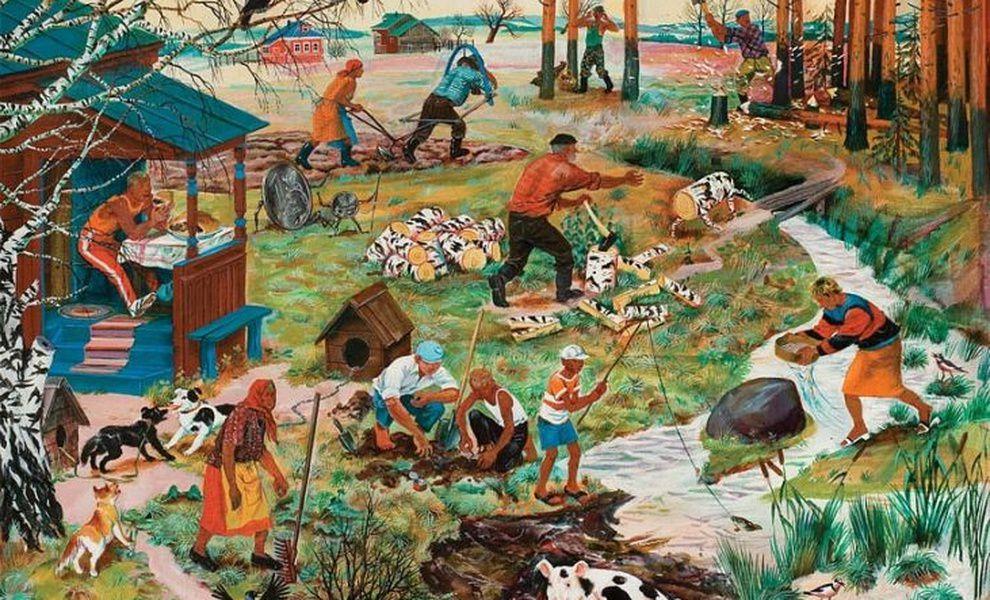 Выставка живописи Дины Ельцевой