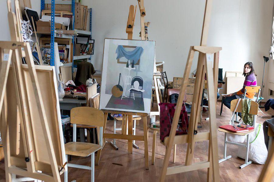 Выставка работ студентов и преподавателей Художественного института имени Сурикова