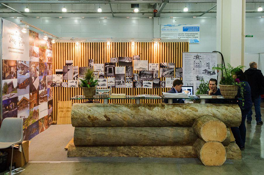 Выставка «Деревянное домостроение»