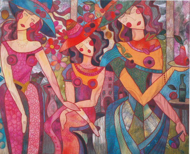 V Открытый международный фестиваль лоскутного шитья Quilt Fest 2017