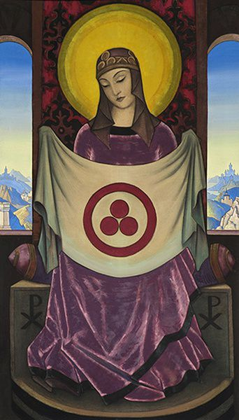 Выставка «Николай Рерих. Знамя Мира — Знамя Культуры»