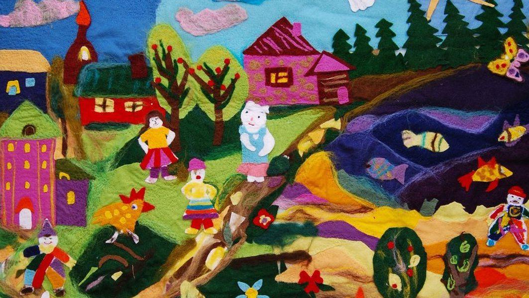 Выставка «Дети из Зазеркалья»