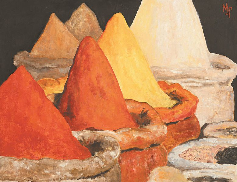 Выставка «Путь шафрана»