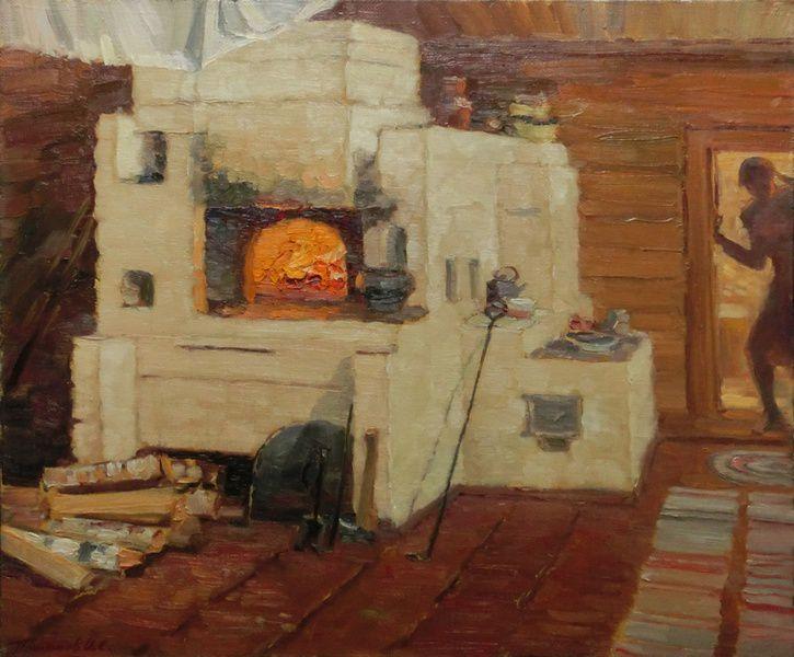 Выставка «Пейзажи русской деревни»