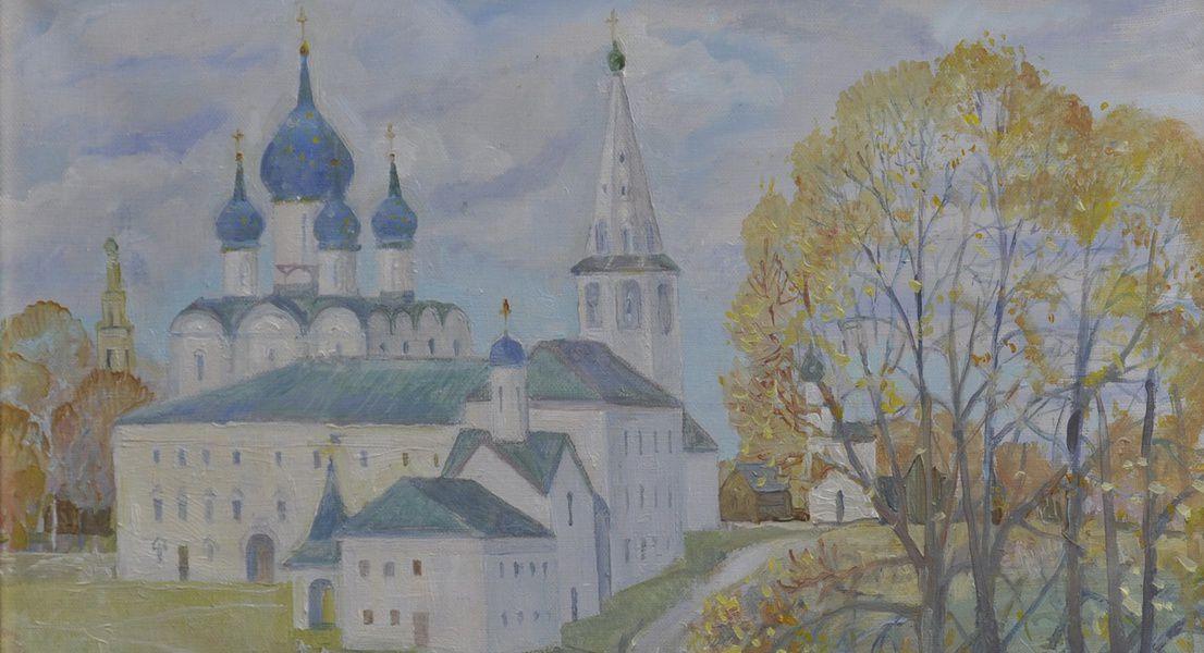 Выставка Елены Ржевской «Мои впечатления»