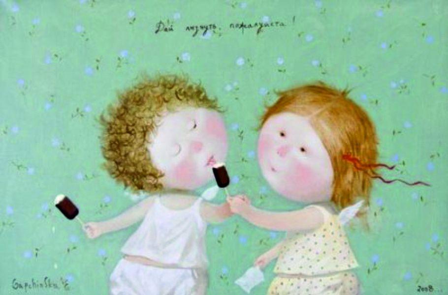 Выставка Евгении Гапчинской «Ты — моё счастливое число»