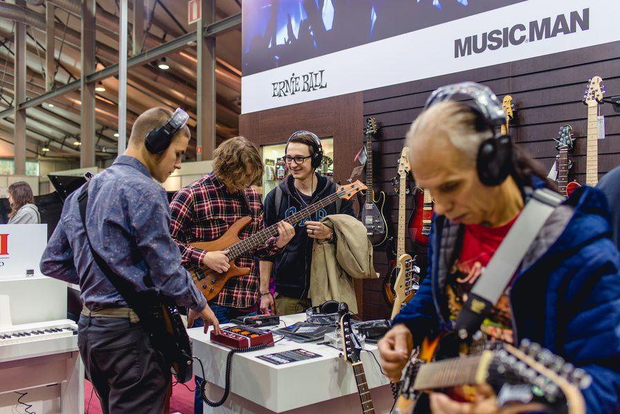 Регистрация на выставку NAMM Musikmesse